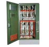 #switchgear- Park PM 315 series Switchgear is available in voltage ranges of 4.8KV to 24.5KV. Front operated holders lock doors open, and provide ample work space for pulling cables and making terminations.