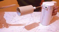 Dal ruličku od toaletného papiera na mixér. A výsledok? Na túto geniálnu…