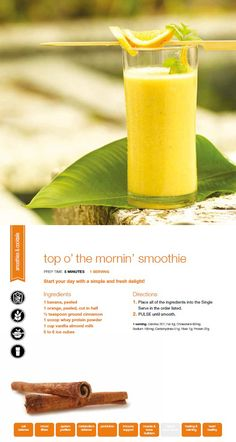 Top O' the Mornin' Smoothie using the Ninja Ultima!