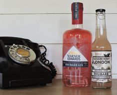 Hold the phone... A double whammy of Rhubarb! Warner Edwards and Square Root London. What's not to like...unless you don't like Rhubarb.
