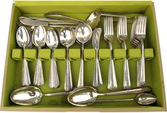Towle Sterling Flatware, Service for 12 @One Kings Lane Vintage & Market Finds - Tabletop Get and extra 30% off today 10/16 by entering Kitchen at checkout!