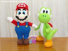 Mario e Yoshi - Coleção Super Mario