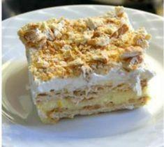 Greek Desserts, Greek Recipes, Desert Recipes, Cream Crackers, Sweet Bakery, Sweet Tooth, Cheesecake, Deserts, Cooking Recipes