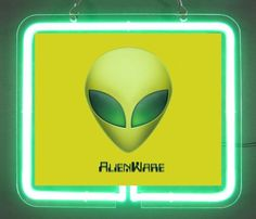 Alienware Alien Game Gaming  Brand  Neon Light Sign 01