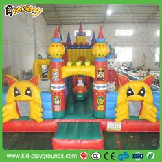 classic Inflatable Fun City Park