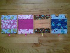Intérieur protège carnets de santé enfants. Creations, Quilts, Blanket, Notebooks, Children, Comforters, Blankets, Patch Quilt, Kilts