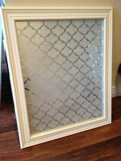 Etched Glass Mirror DIY @ craftyourown.com