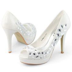 Shoes you cant do without Platform Pumps, Pump Shoes, Wedding Shoes, Jewelery, Peep Toe, High Heels, Shoe Bag, Stylish, Stuff To Buy