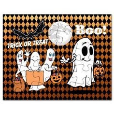 #TrickOrTreatingGhosts #HalloweenPuzzle by #MoonDreamsMusic #TrickOrTreat