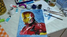 Iron Man  Made in 6h  Good for a beginner like me
