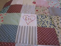 Look What I Made! My First Ever Patchwork Quilt