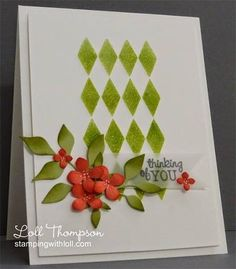 Pretty card...