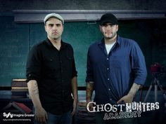 Ghost Hunters - Steve & Tango! They are todays version of Laurel and Hardy...so funny