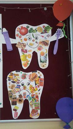 Dental Activities for Kids - Todo Sobre La Salud Bucal 2020 Teaching Kids, Kids Learning, Art For Kids, Crafts For Kids, Community Helpers Preschool, Dental Kids, Health Activities, Health Lessons, Dental Health