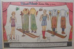 US $12.00 New in Dolls & Bears, Paper Dolls, Vintage