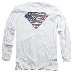 "Checkout our #LicensedGear products FREE SHIPPING + 10% OFF Coupon Code ""Official"" Superman / All American Shield-long Sleeve Adult 18 / 1 - Superman / All American Shield-long Sleeve Adult 18 / 1 - Price: $29.99. Buy now at https://officiallylicensedgear.com/superman-all-american-shield-long-sleeve-adult-18-1-53449"