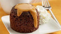 ReadySetEat - Chocolate Peanut Butter Mug Cakes - Recipes