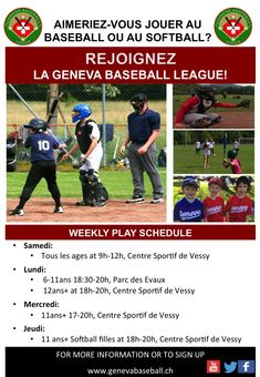 Schedule and how to Join Softball, Baseball League, Play, Jouer, Teamwork, Schedule, Coaching, Baseball Cards, Learning