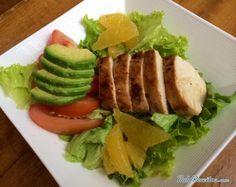 Aprenda a preparar salada de frango com gengibre  com esta excelente e fácil receita.  Esta deliciosa salada de frango com gengibre é uma opção perfeita para a hora...