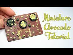 Miniature Avocado Tutorial-Polymer Clay