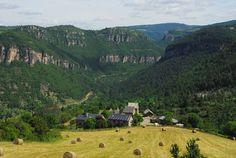 la vallée du Trévezel - Gard