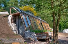 The Earthship in Zwolle, my dream home.