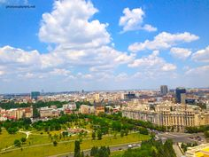 Bucharest seen from the top of the House of Parliament http://photoexplorers.net/2013/07/22/bucurestiul-de-la-inaltime-palatul-parlamentului/