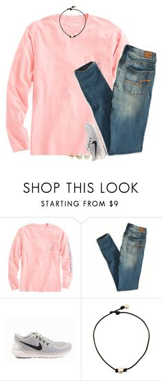"""that halftime show tho"" by gourney ❤ liked on Polyvore featuring Vineyard Vines, American Eagle Outfitters, NIKE, Lord & Taylor, women's clothing, women, female, woman, misses and juniors"