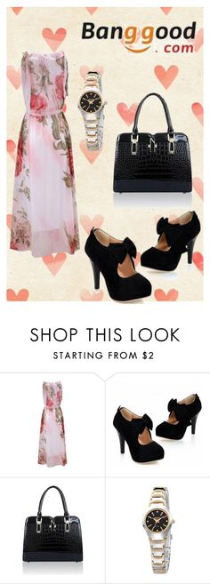 """Banggood III/9"" by m-sisic ❤ liked on Polyvore"