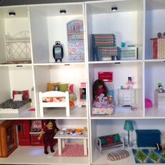 DIY: American Girl Doll House