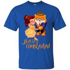 Beauty And The Beast Shirts Beauty And The Pomeranian T shirts Hoodies Sweatshirts Beauty And The Beast Shirts Beauty And The Pomeranian T shirts Hoodies Sweats