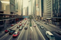 busy streets