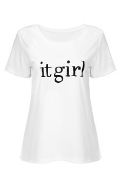 Esta T-shirt é feita de algodão e poliéster branco. É especial para a sua carta de impressão.