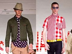 Mark McNairy Spring/Summer 2013 Puts on a Playful Patterned Show #topmensfashion