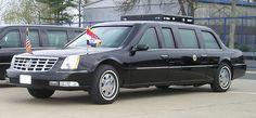 43rd President - George W. Bush used 2005 Cadillac limousine.