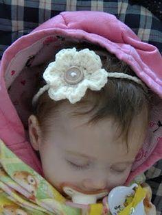 Knotty Knotty Crochet: Little Lizzy's Headband FREE PATTERN