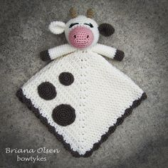 Hey, I found this really awesome Etsy listing at https://www.etsy.com/listing/151845416/cow-lovey-crochet-pattern-instant