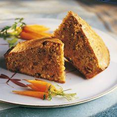 Gâteau aux carottes et aux noisettes - Marie Claire Maison