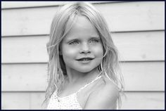 Black and White Photography- Child Portrait at the beach by lizzie patterson photography www.lizziepatterson.com