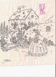 vintage embroidery patterns freevintage transfer patterns for embroidery Garden Embroidery, Folk Embroidery, Embroidery Transfers, Embroidery Patterns Free, Silk Ribbon Embroidery, Vintage Embroidery, Embroidery Stitches, Embroidery Designs, Machine Embroidery