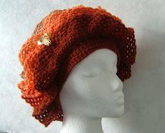 Sofia - Hyperbolic crochet hat