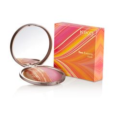 Multi-colour Face Blush: Sun Lovers Blush - KIKO Make Up Milano. Just bought this from the store on Oxford street London & loving all there products