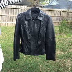 Express leather jacket In good condition Express Jackets & Coats Utility Jackets