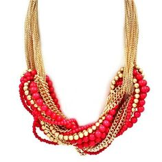 i LOVE chunky necklaces