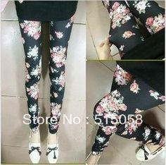 2012 Fashion Print Leggings For Women Patterned Elastic Black Milk Legging Skinny Pants Women Jeans on AliExpress.com. $8.48