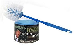 Donald J. Dump Novelty Trump Toilet Brush - Blue