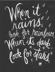 no one leaves till we figure this out — When it rains, look for ...