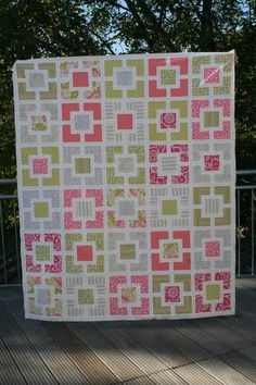 Garden Fence Quilt-Along: Putting the quilt top together