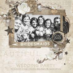 Rustic Wedding Embellishment Biggie Digital Scrapbooking Kit by Brandy Murry | ScrapGirls.com