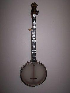 Vintage-Fairbanks-Vega-5-string-open-back-banjo